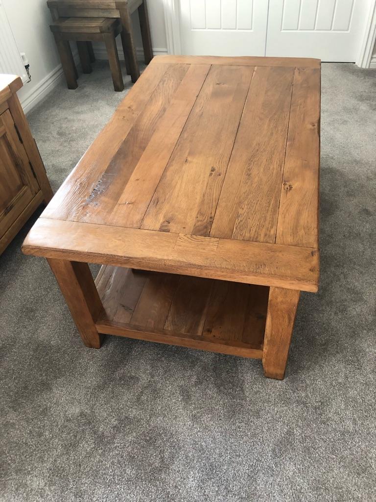 Reclaimed solid Oak Coffee Table