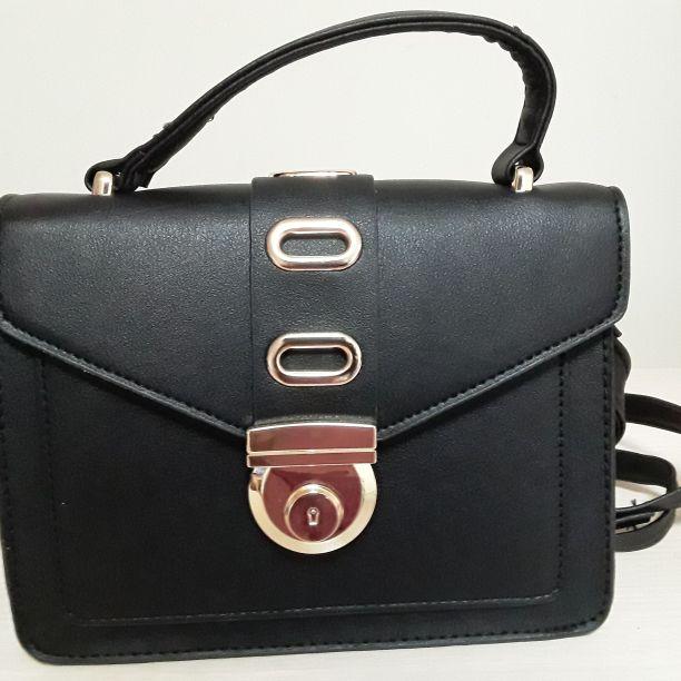 .Black mini bag