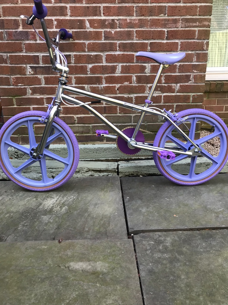 GT type 80's FREESTYLE BMX BIKE