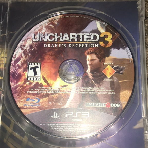Uncharted 2 & 3 with assassins creed 3 for PS3