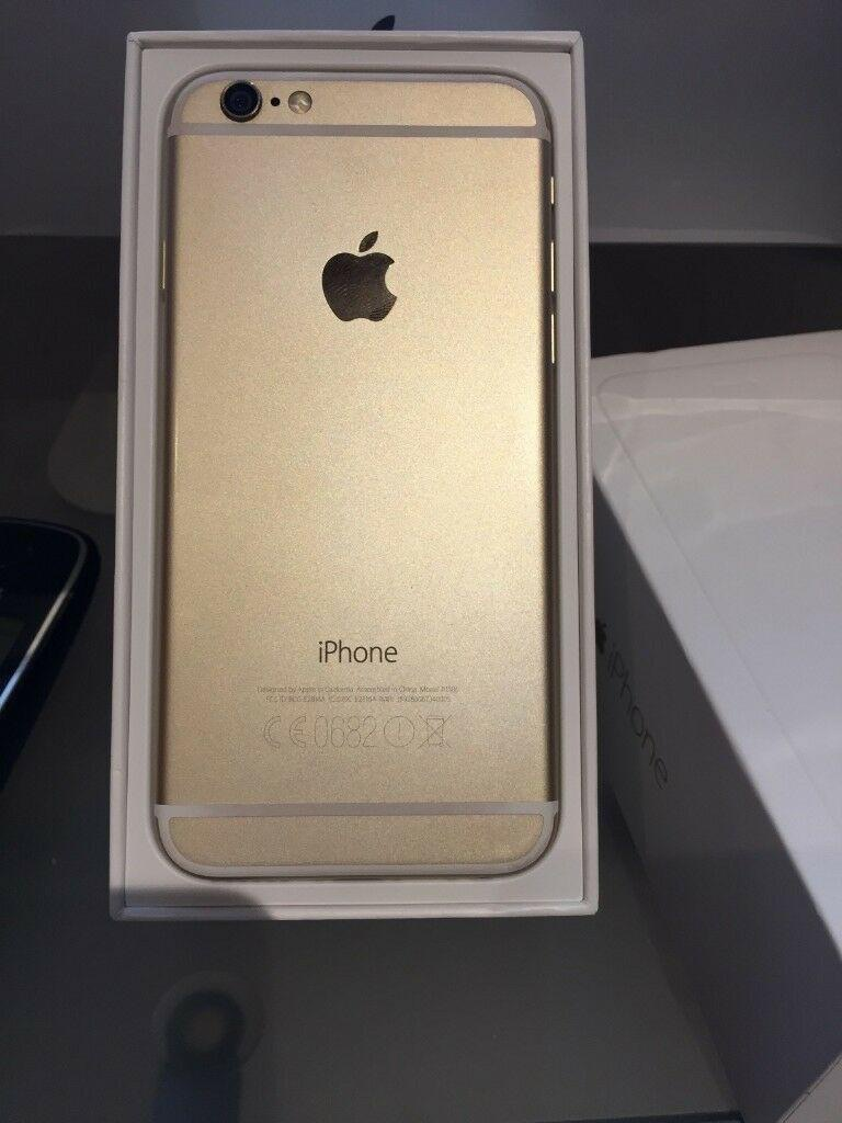 iPhone 7 gold 32GB unlocked brand new mint condition