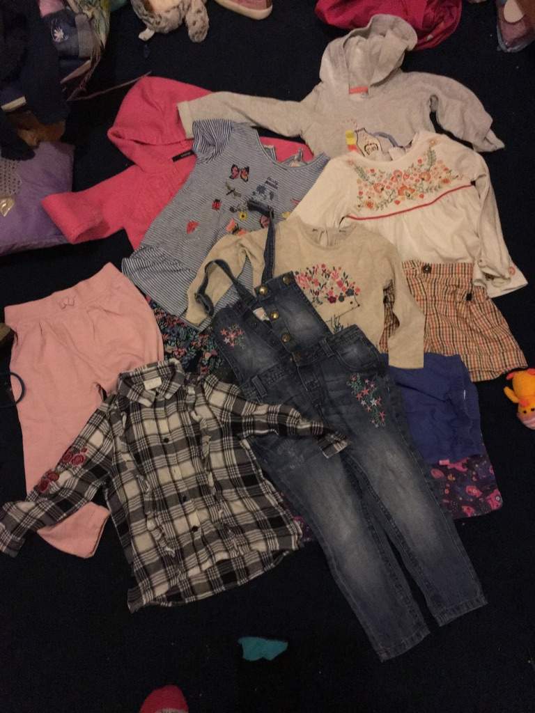 2 to 3 years girls clothes bundle
