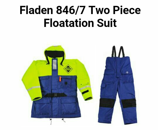 Fladen flotation suit xl
