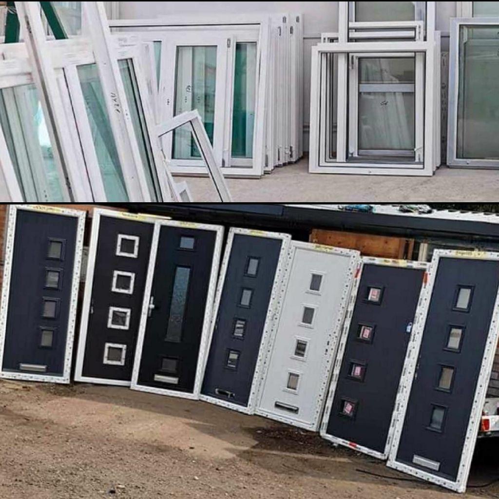 New UPVC windows and composite doors