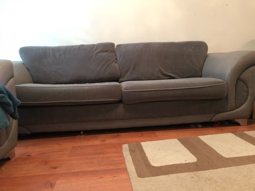 4 seater sofa and 2 seater sofa bed for sale