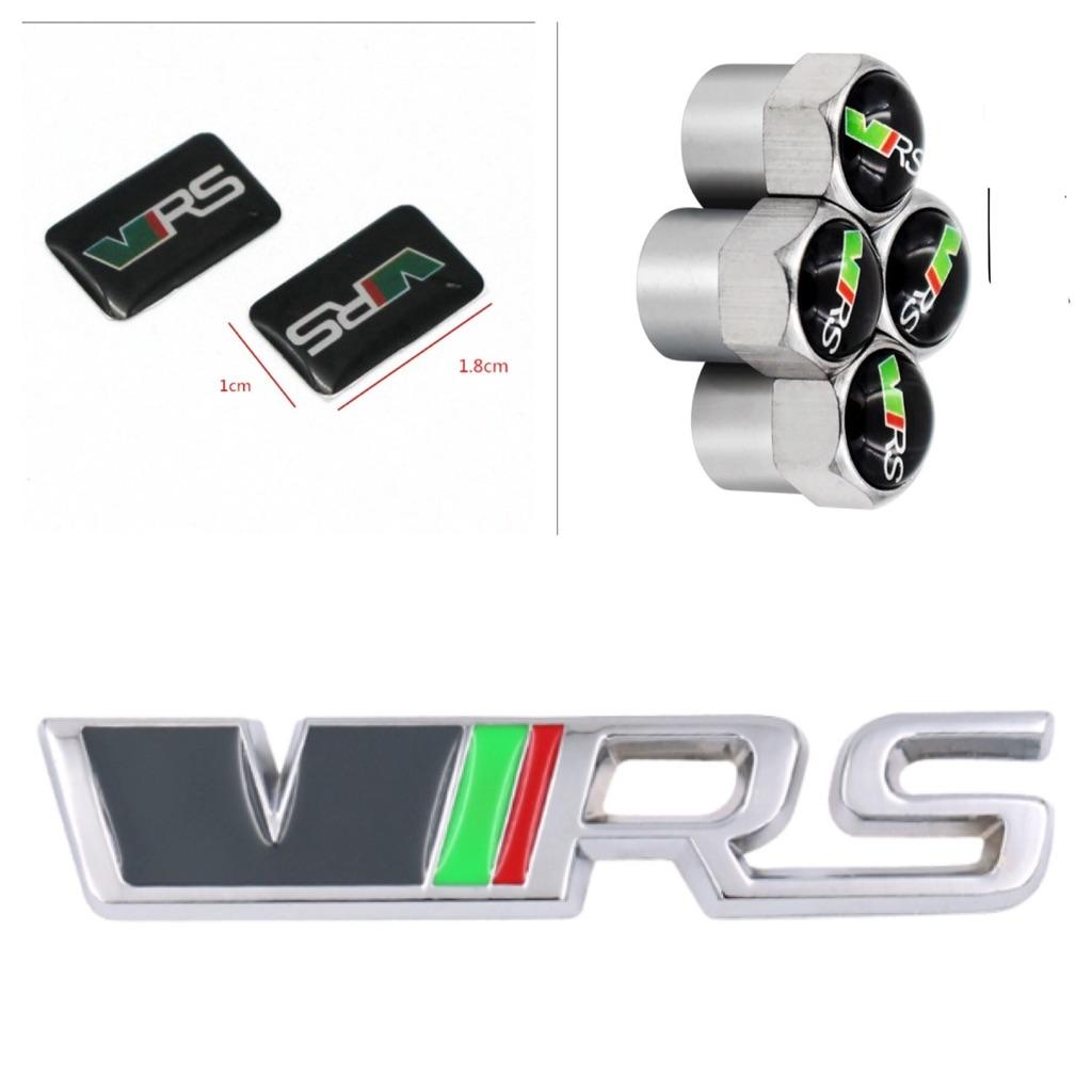 Set of VRS badge