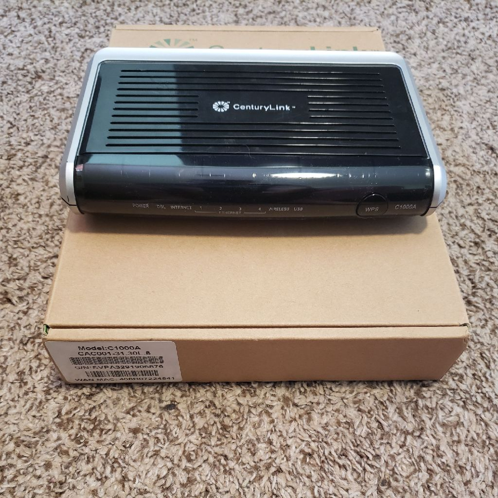 CenturyLink Actiontec c1000a wireless modem
