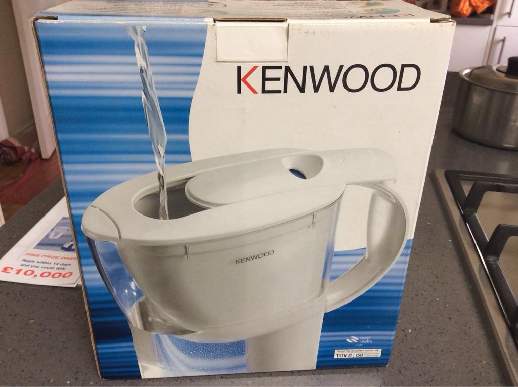 Kenwood water filter jug
