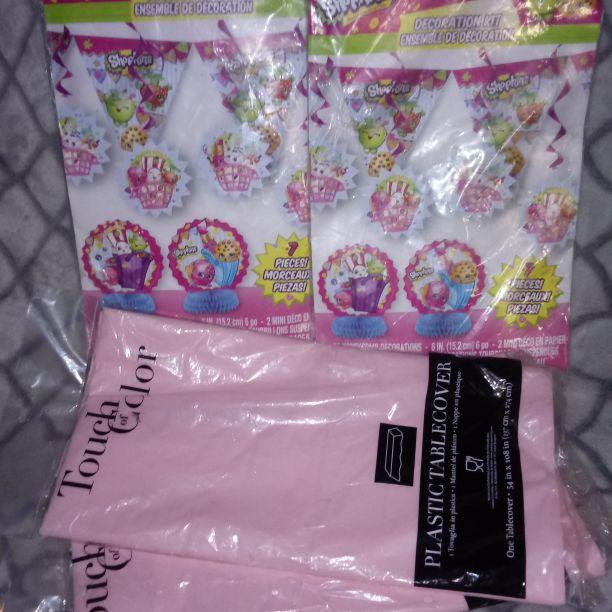 Shopkins party supplies