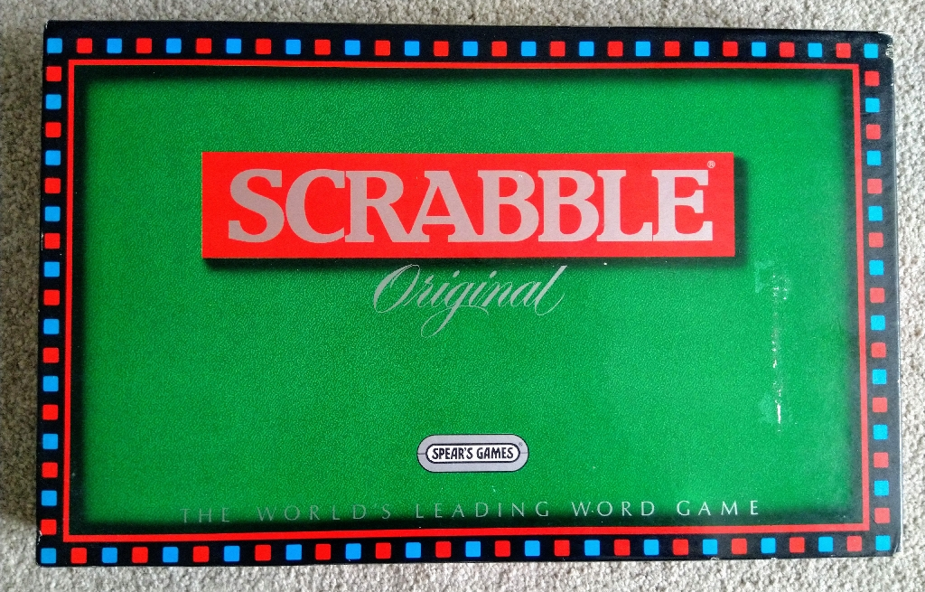Original Scrabble Board Game by Spear's Game