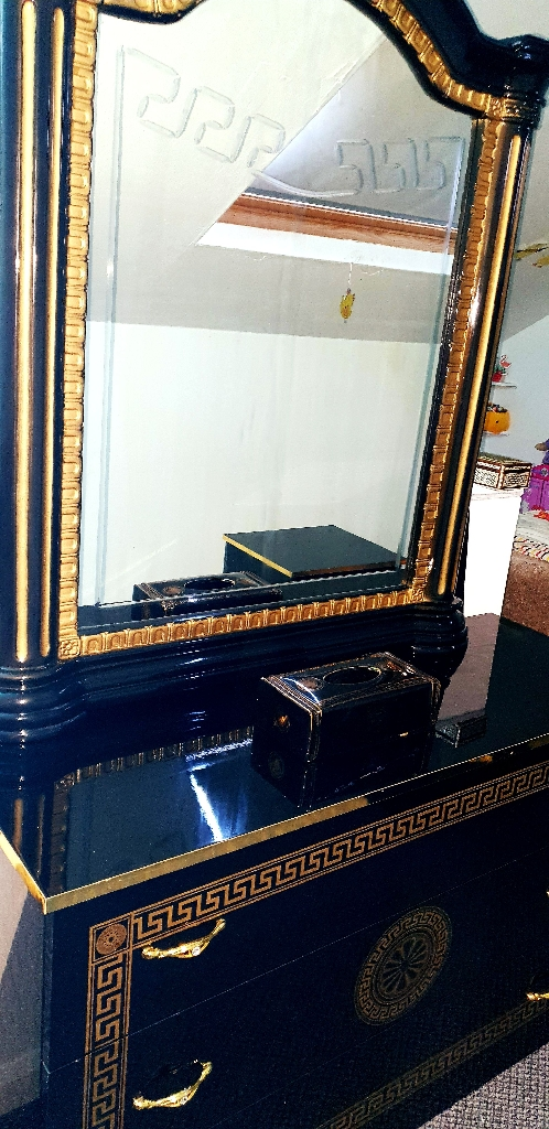 Versace inspired bedroom furniture