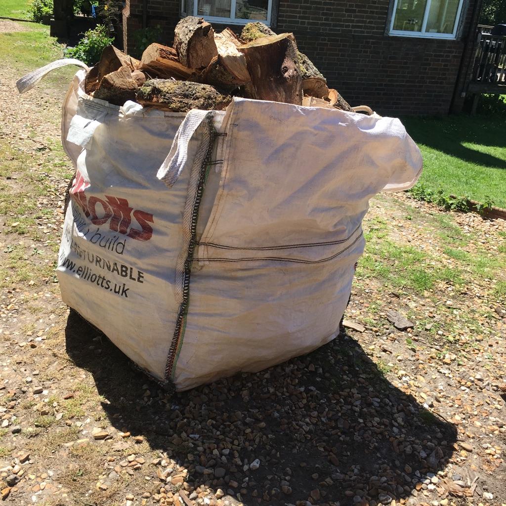 Oak logs Bargain at £55