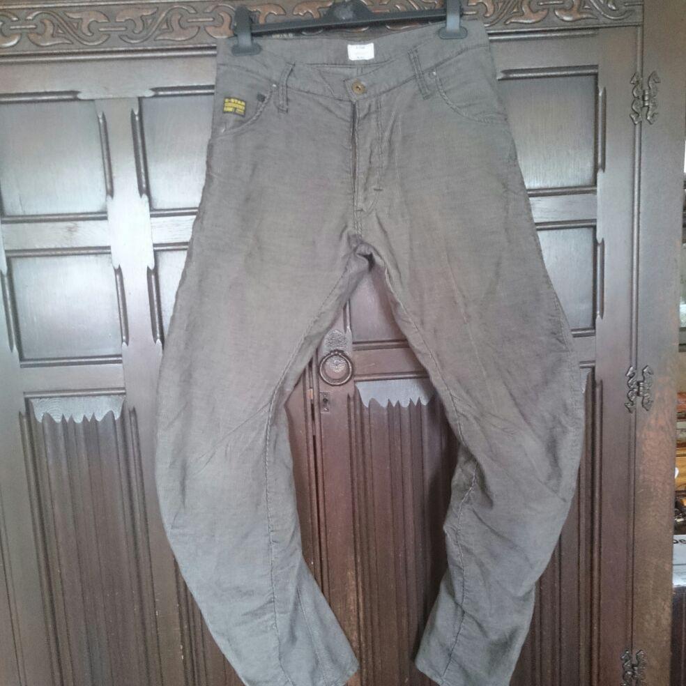 G-STAR RAW ARC 3D LOOSE TAPERED COJ PANTS ORIGINAL CORDUROYS size 30/32