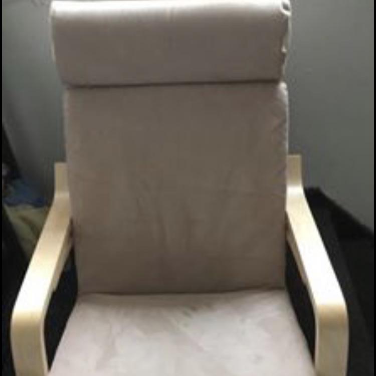 Nursing chair.