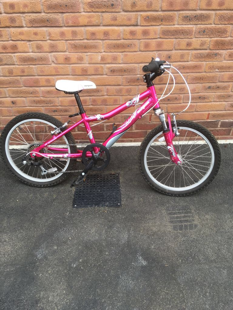 "Mongoose Girls 20"" Rockadile Comp hardtail mountain bike"