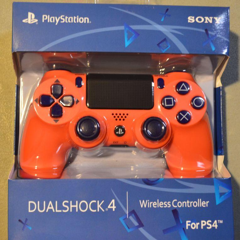 Ps4 Playstation 4 Controller Sunset Orange New Village