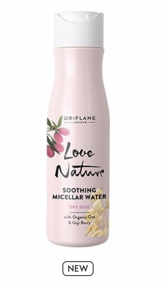 Soothing Micellar Water with Organic Oat & Goji Berry