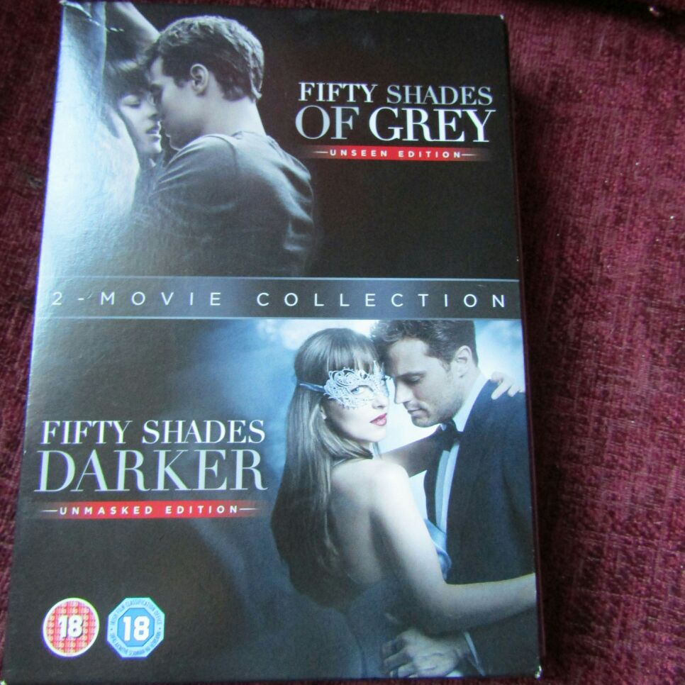 50 Shades of Grey/50 shades darker DVD box set