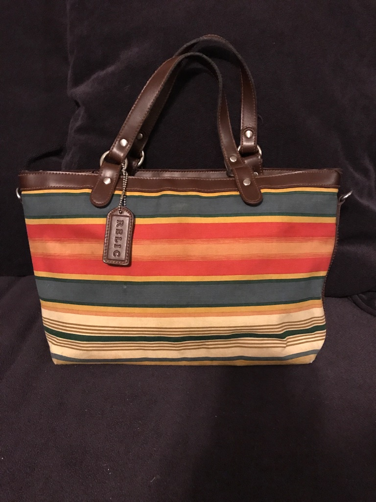 Vintage Relic Multicolored Handbag