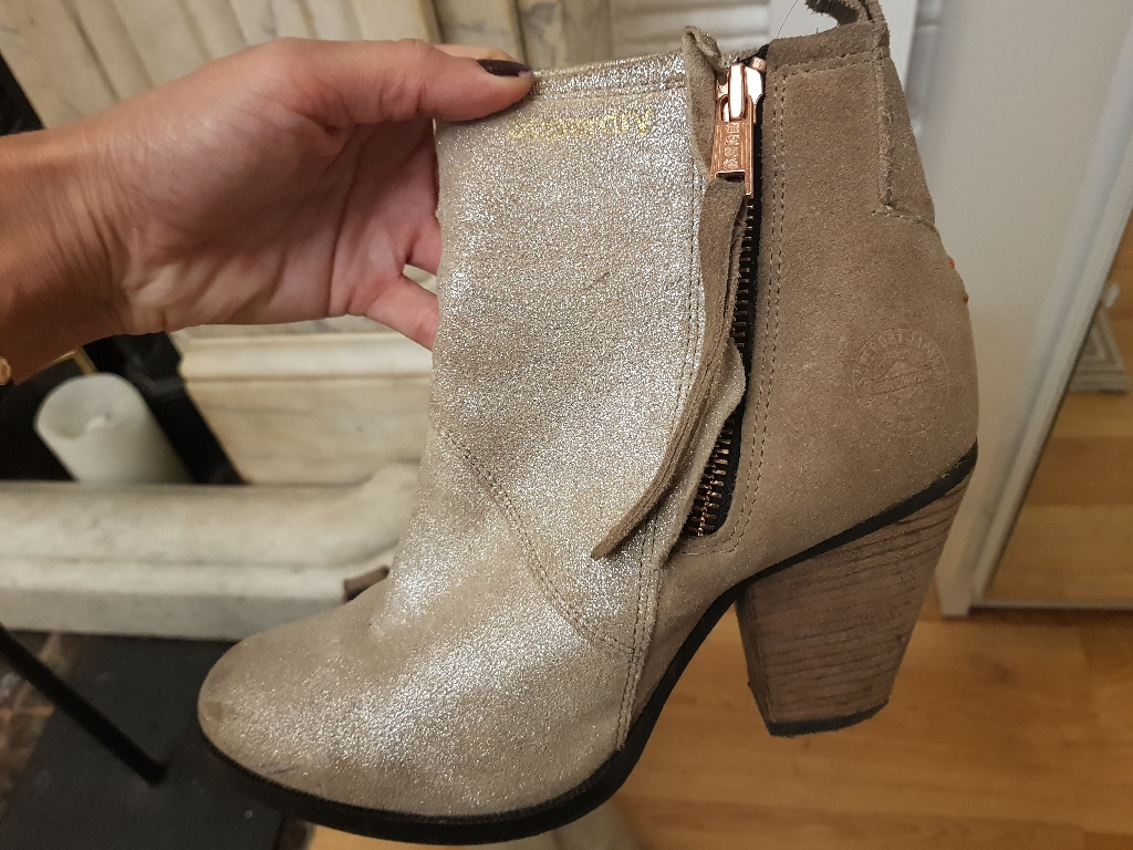 Boots leather Superdry