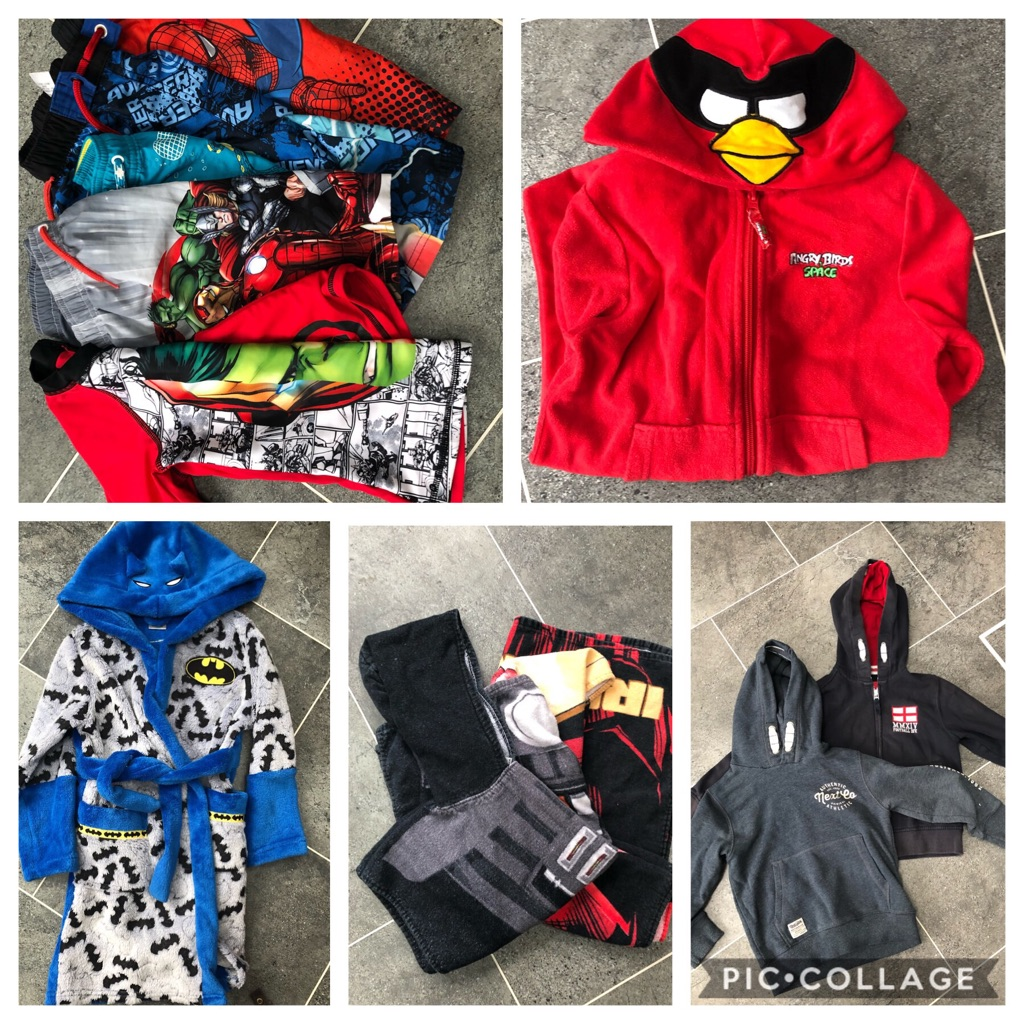 Aged 5 boys clothing bundle