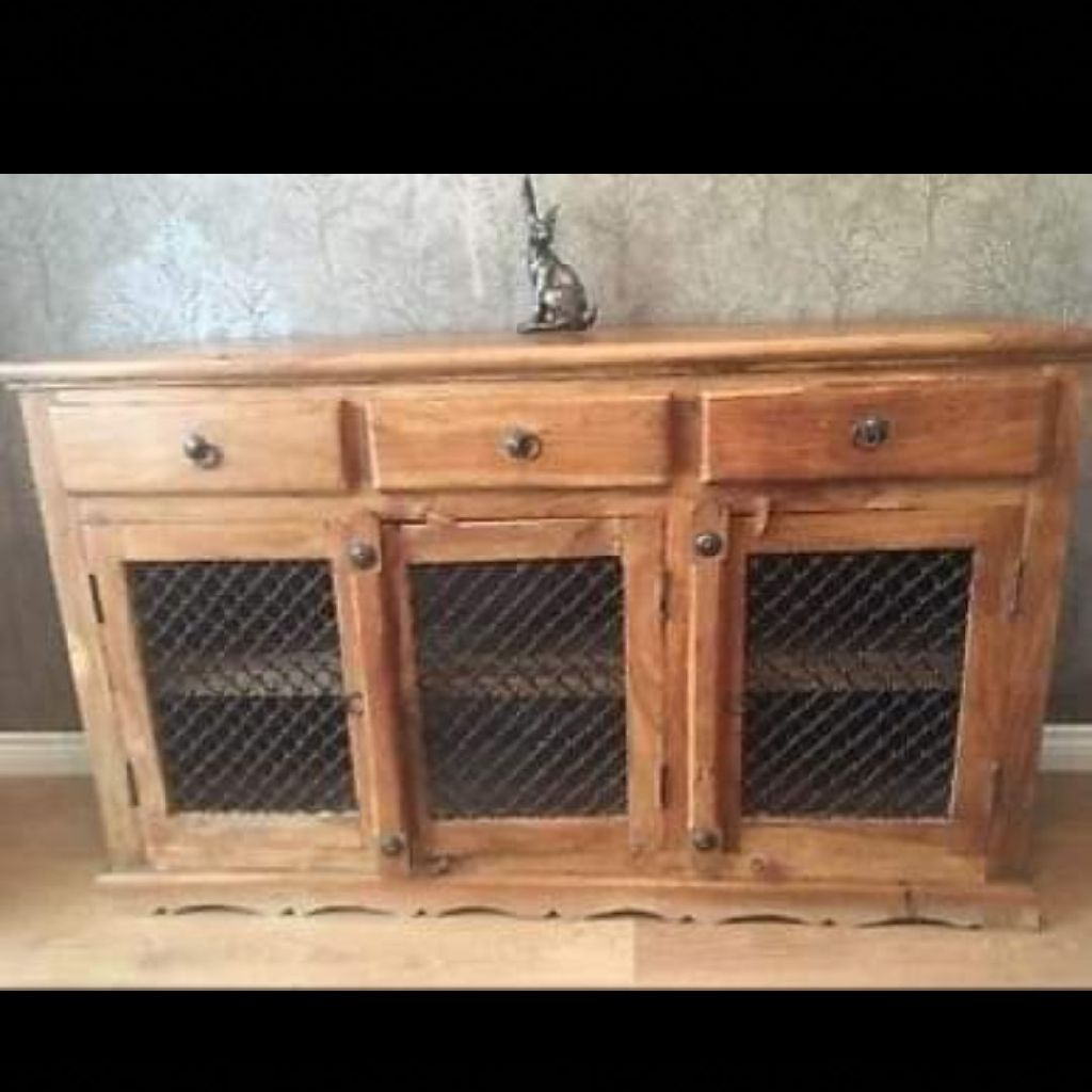 Jail Iron beautiful wood unit
