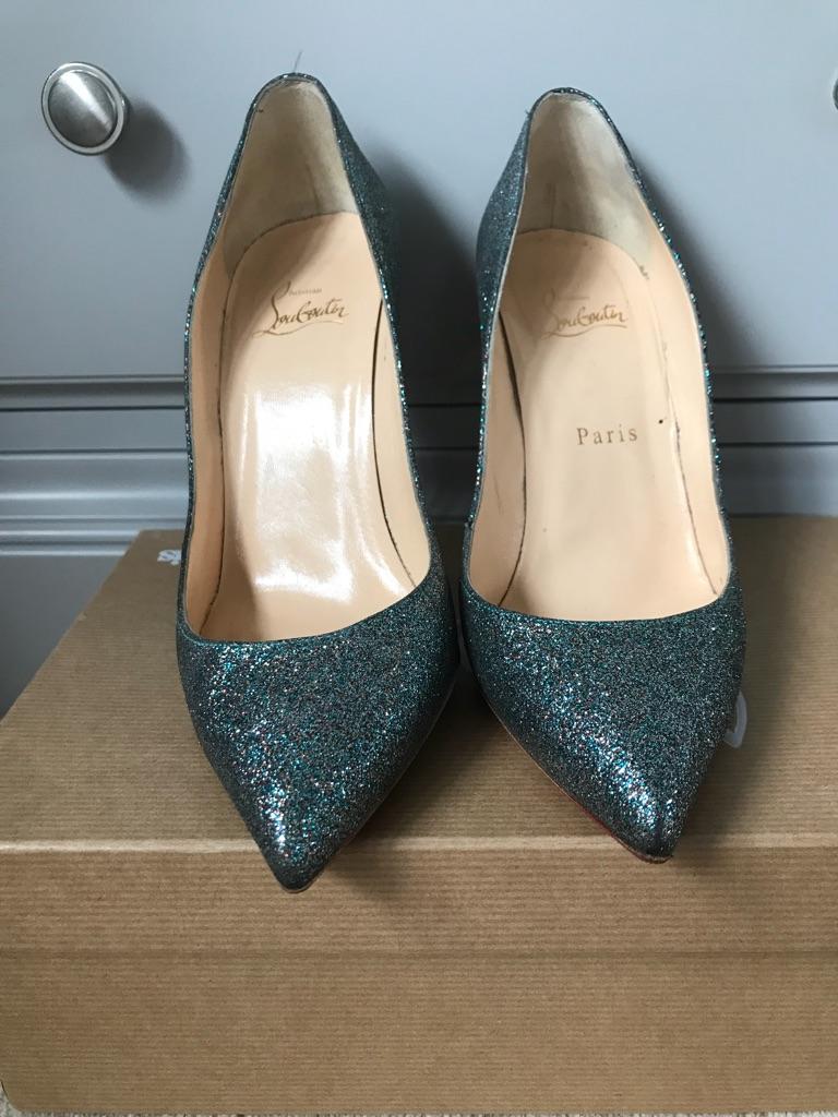 Louboutin, pigalle follies glitter 100