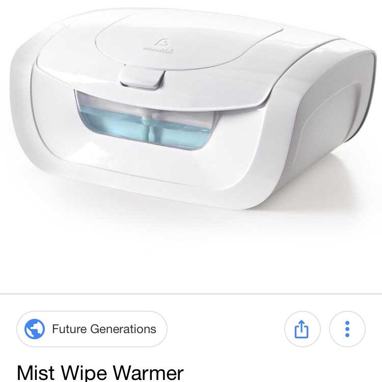 Diaper warmer