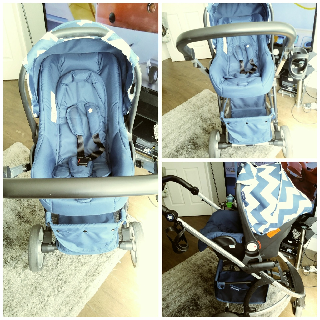 Mybabiie M200+ travel system