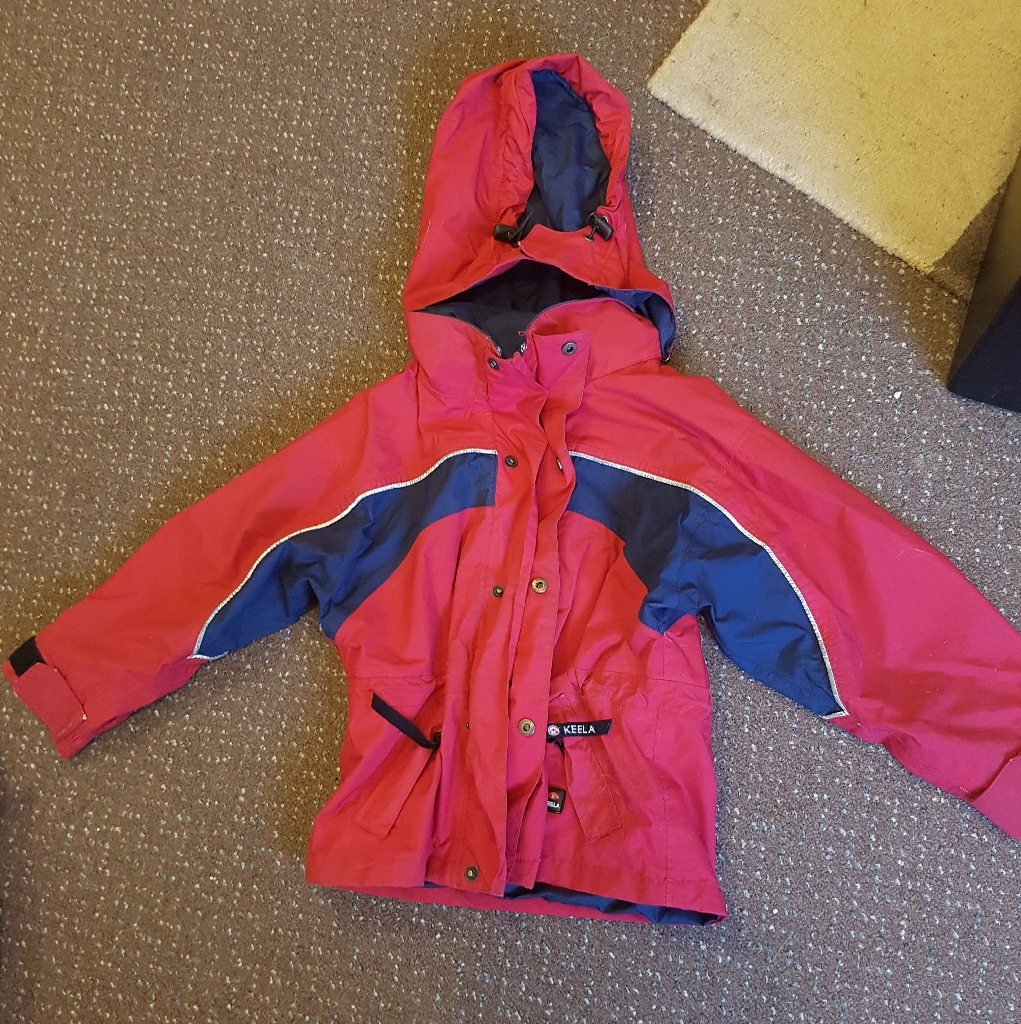 Age 2 Keel brand waterproof coat