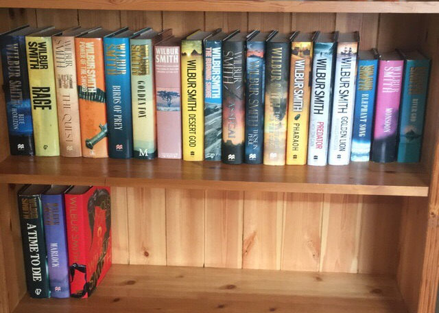 Wilbur Smith Hardback Collection x21