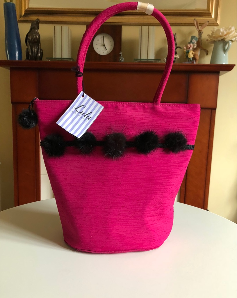 Brand New Genuine Debenhams Lulu Guinness Concession Stand Bag