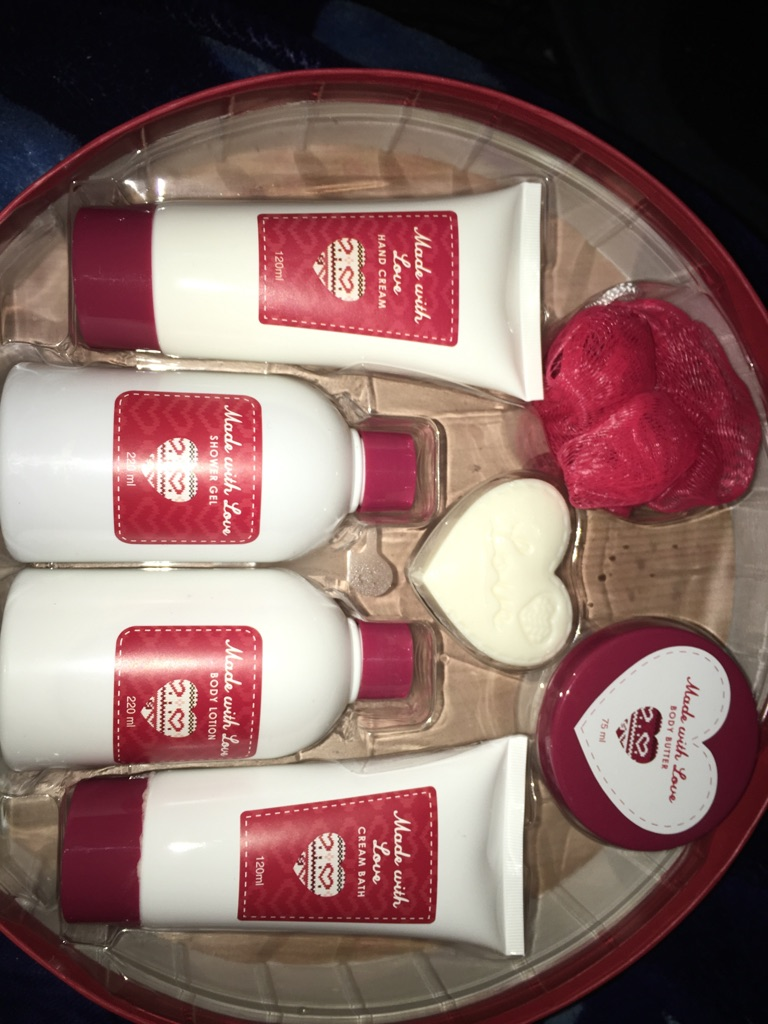 Made with love gift set