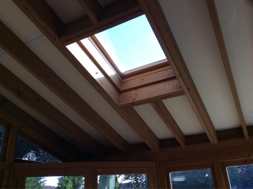 Wooden conservatory /sunroom