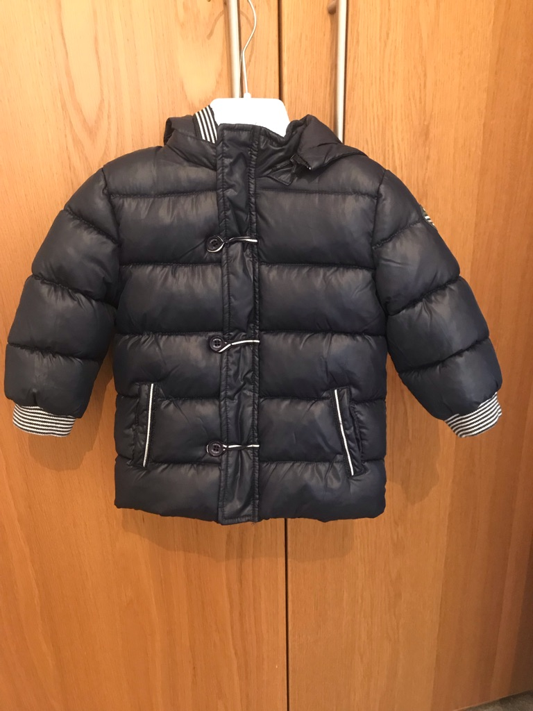 Mayoral Navy Coat size 12months