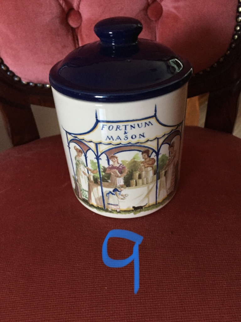 Vintage cheese pots. Shabby chic and collectible. Selection 2
