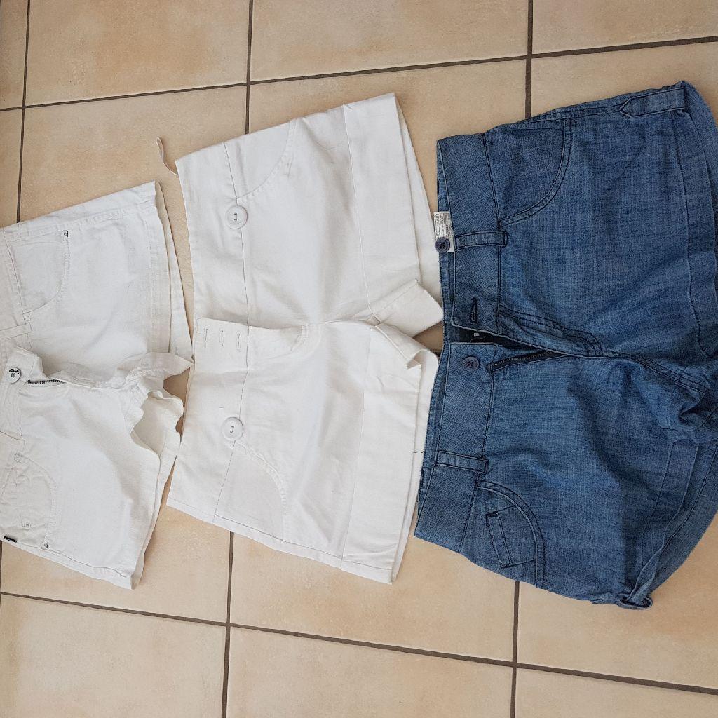 3 x shorts