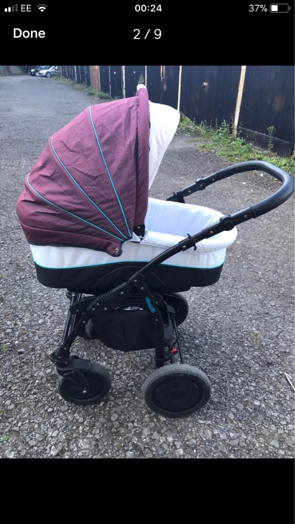 Baby Buggy and Carry Cot Chippolino
