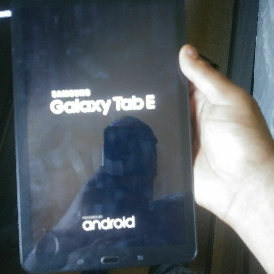 Samsung Galaxcy tablet