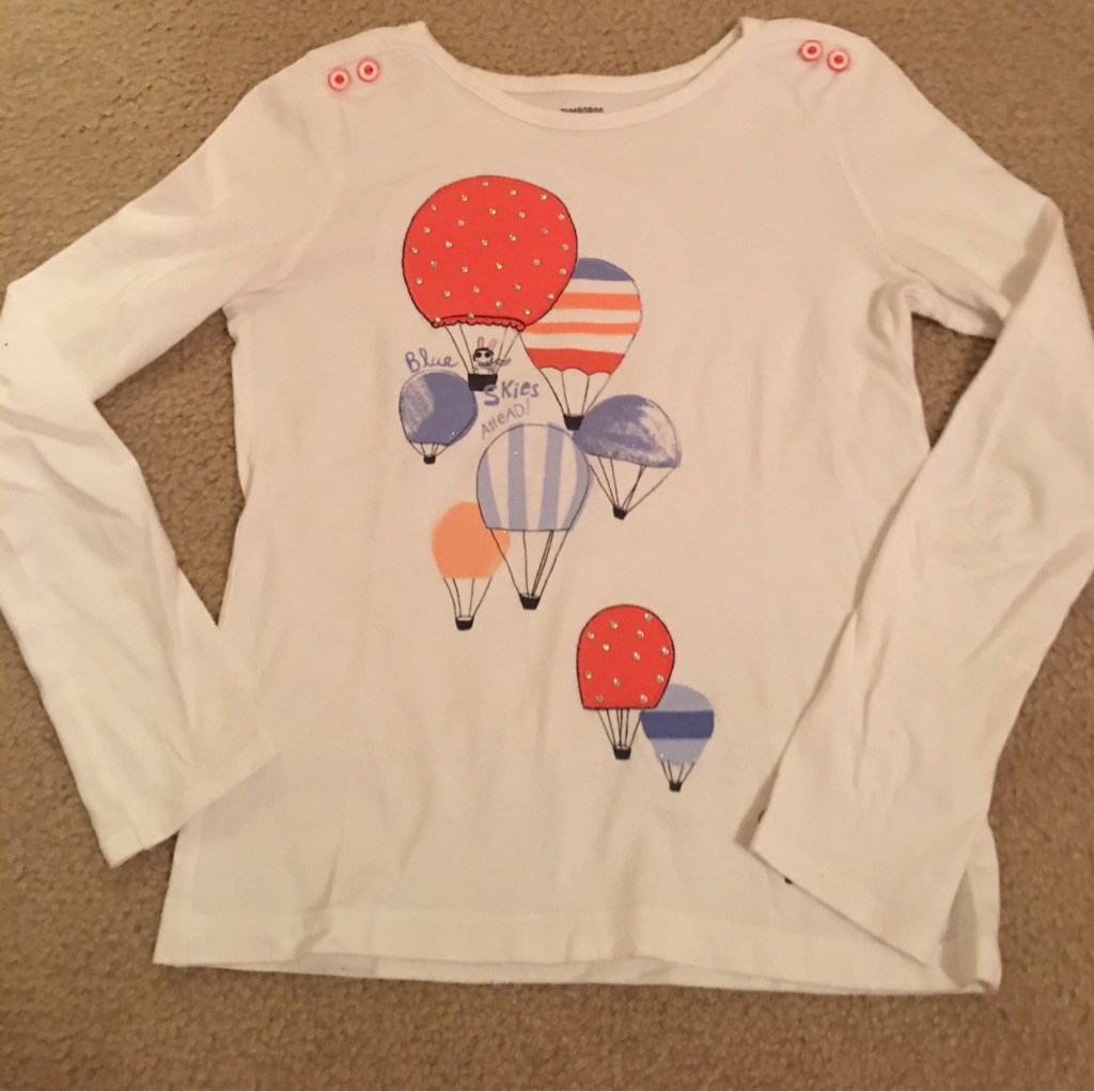 Girl's Gymboree shirt, size 12
