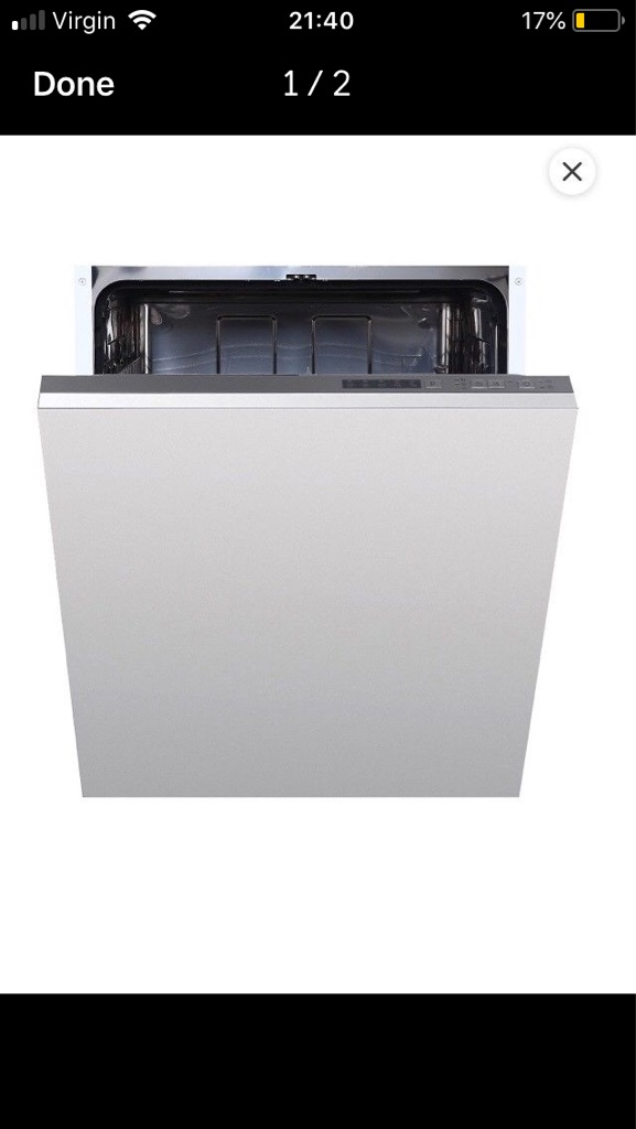 Integrated Dish washer