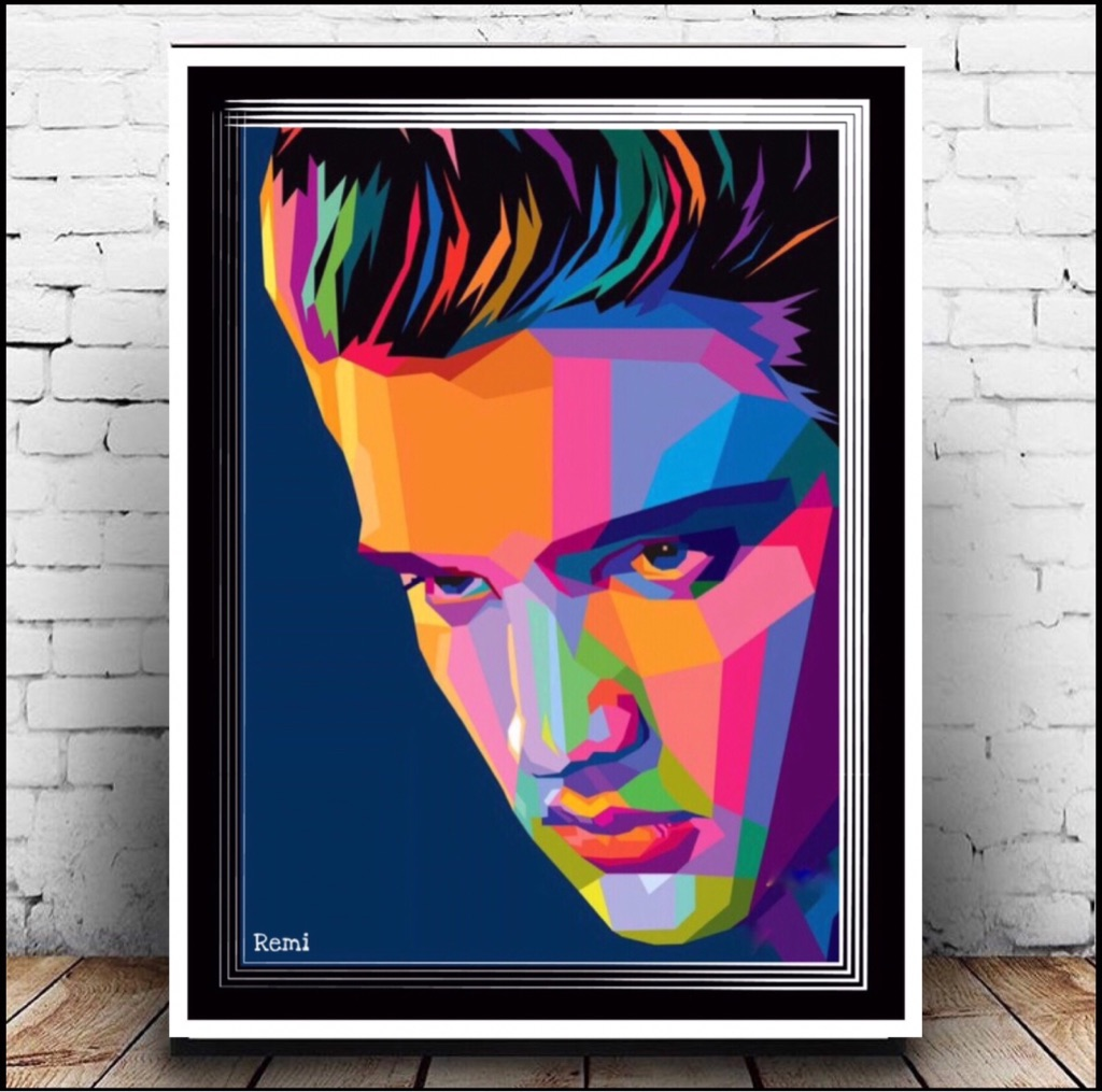 Elvis Presley Canvas Print Wall hanging ready to display (new)