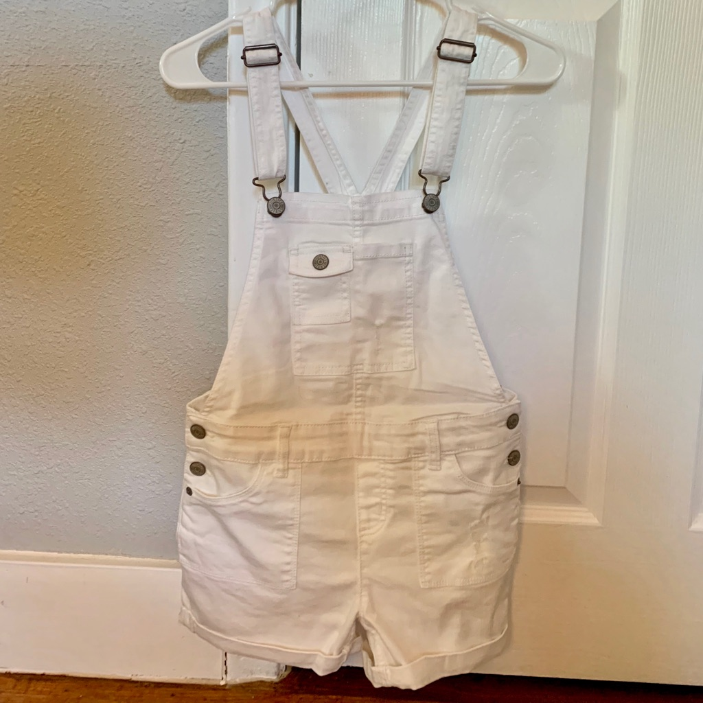 Brand New With Tags White Shortalls from Justice