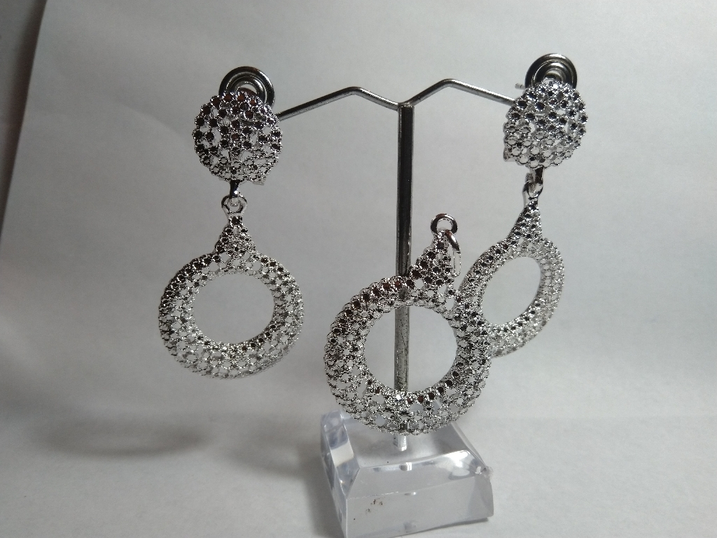 Lovely  silver pendant and earrings