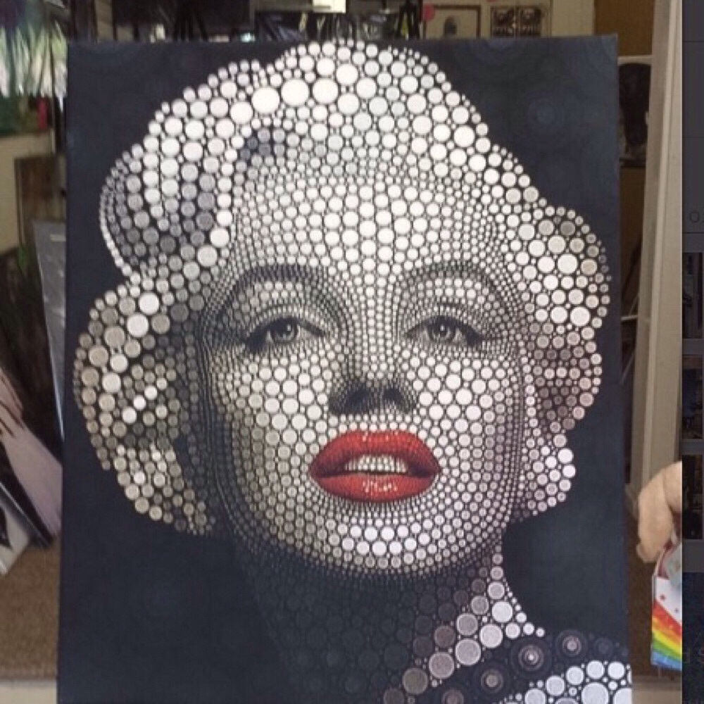 Mariyn Monroe Canvas Print wall art (new)