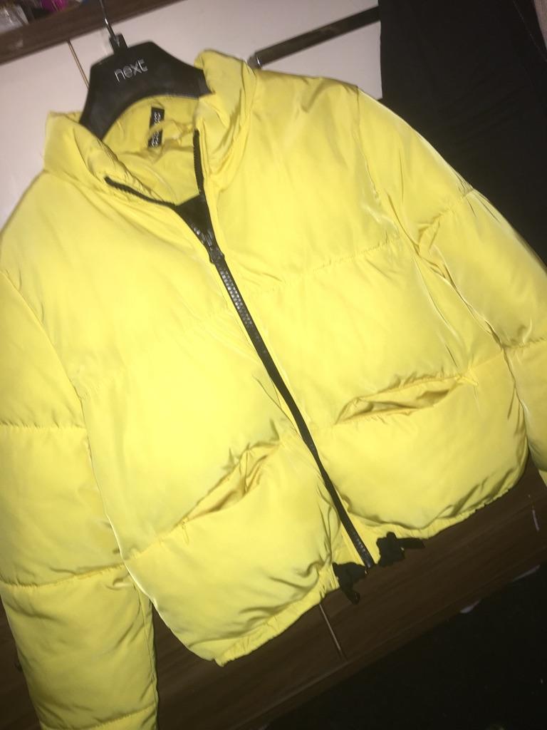 Yellow Padded Coat
