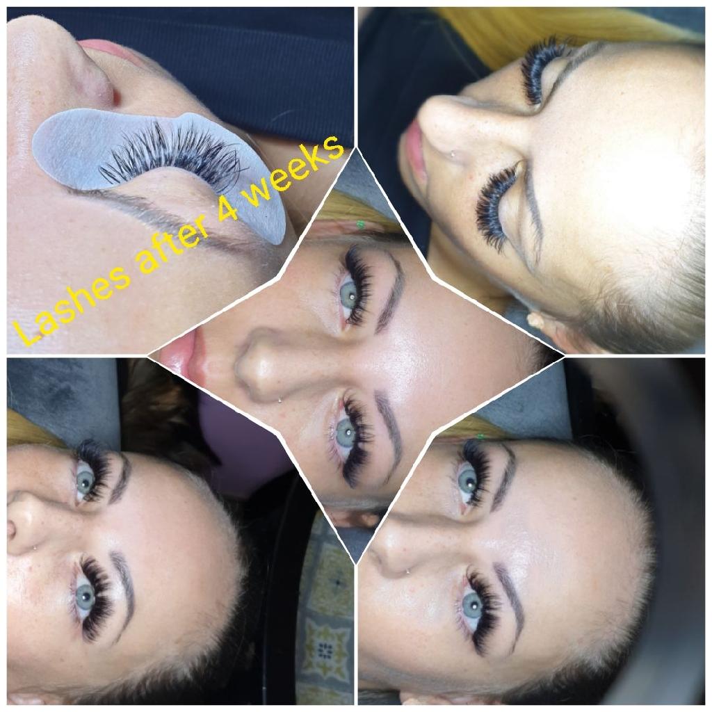 Microblading Eyebrows , eyelash extensions , lvl lash lift , cc brow henna ,dy4 7ar