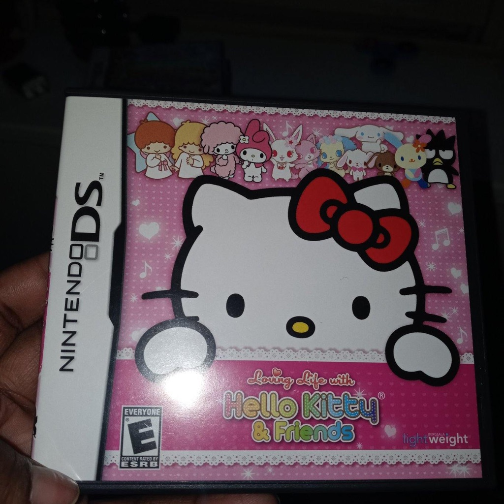 LOVING LIFE WITH HELLO KITTY AND FRIENDS (NINTENDO DS) PRE-OWNED