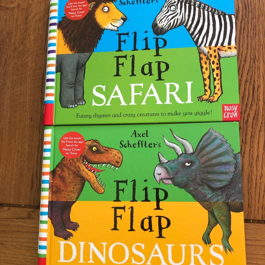 Flip flap books