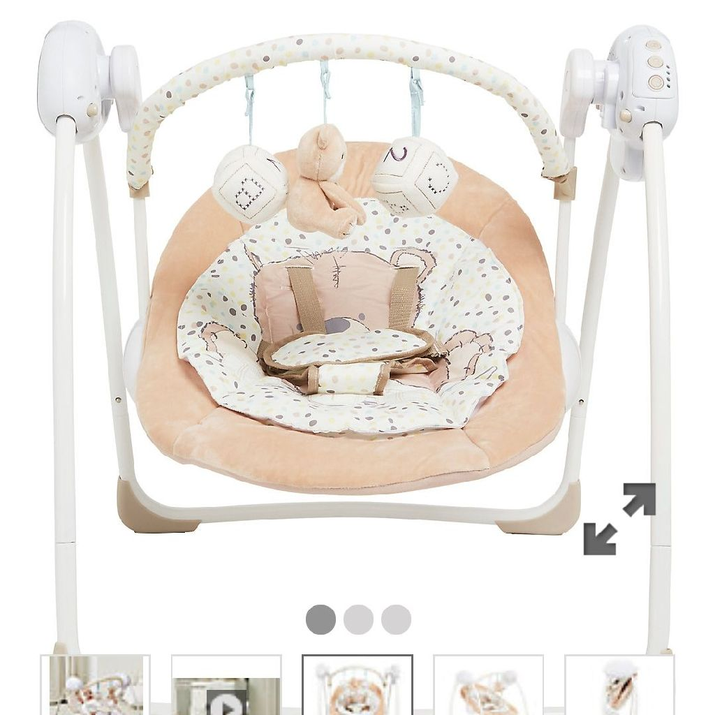 Mother care Teddy's toy box swing